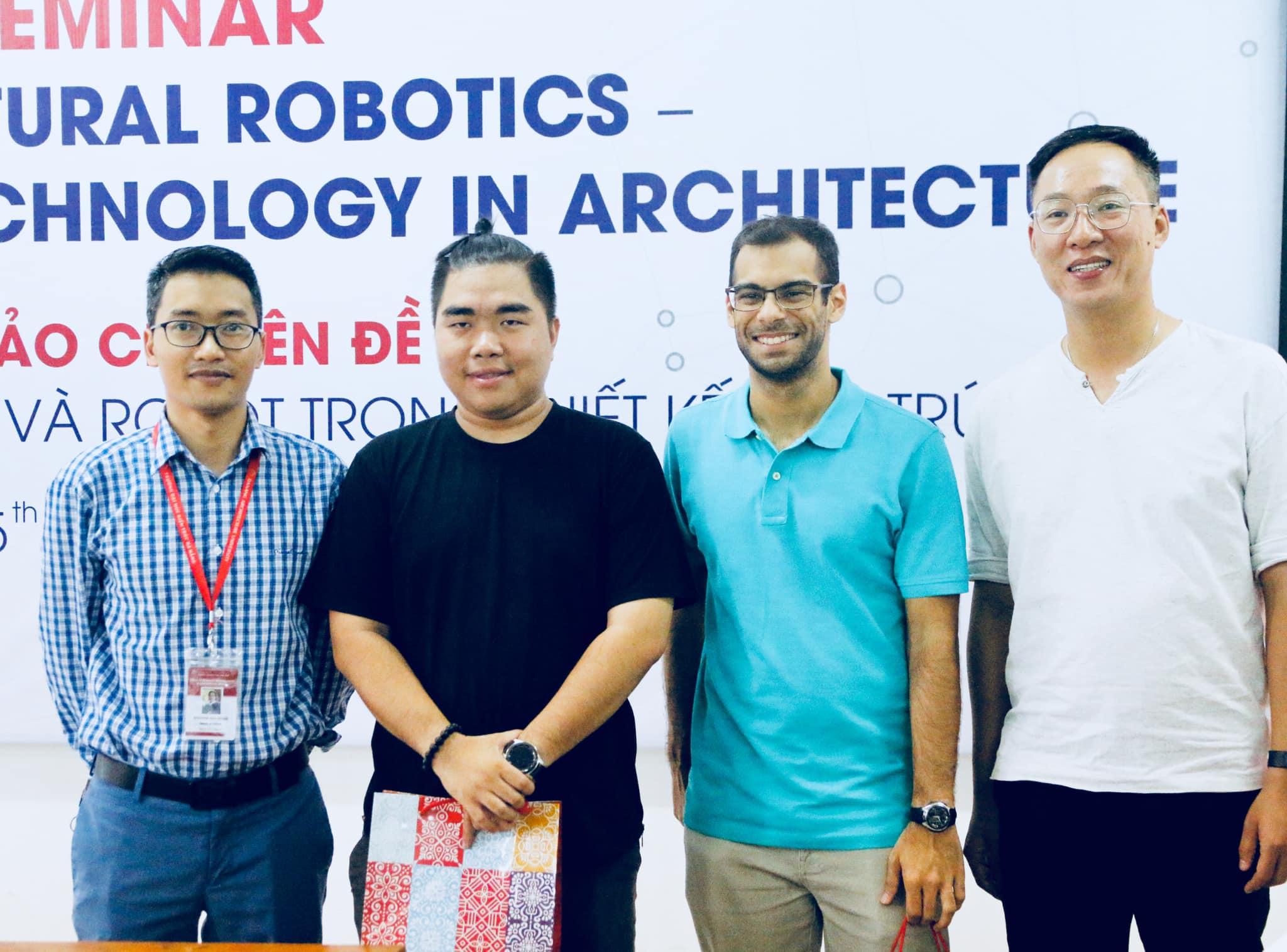 """Hội thảo chuyên đề """"Ứng dụng công nghệ số và Robot trong thiết kế Kiến trúc"""""""